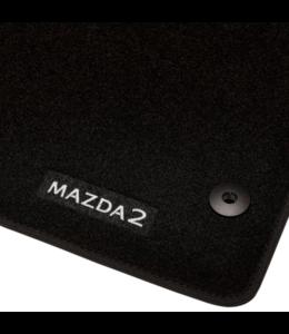 Mazda 2 DJ ab 01.2020 Textilfußmattensatz Standart