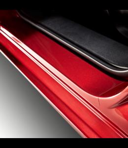 Mazda 2  Einstiegsleistenschutzfolie transparent original ab 2015 Typ DJ