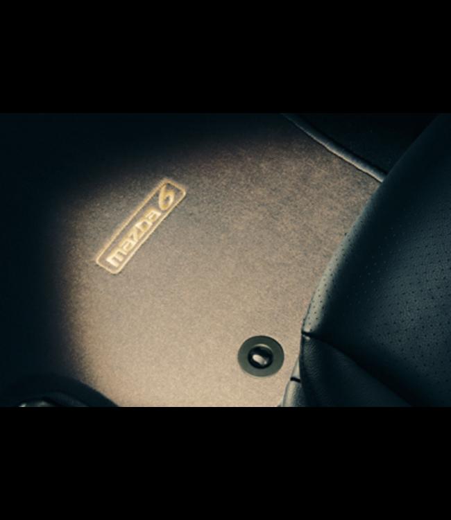 """Mazda 6 GG/GY Textilfußmattensatz """"Luxury""""  Grau"""