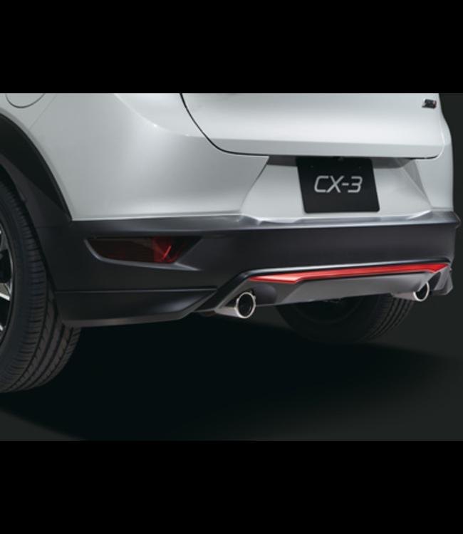 Mazda CX - 3 Heckschürze Mittig
