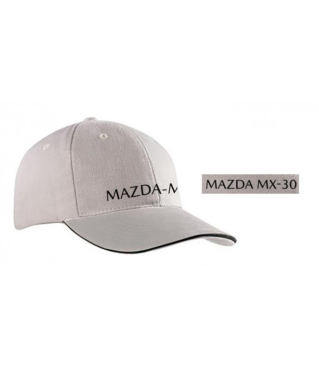 Mazda MX-30 Baseballcap, hellgrau