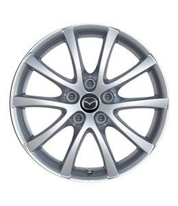Mazda CX-5 KE Alufelgen silber 17 Zoll Design 57 Typ KE + GH original Satz 4 Stück