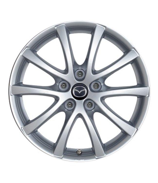 Mazda CX-5 KE bis 2017 Alufelgen silber 17 Zoll Design 57 Typ KE + GH original Satz 4 Stück