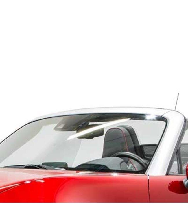 Mazda MX-5 ND Scheibenrahmen Silber glänzend original