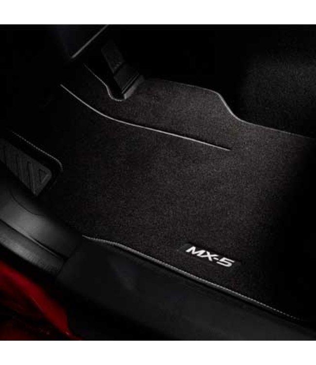 """Mazda MX-5 ND Textilfußmattensatz """"Luxury"""" original"""