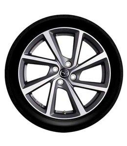 Mazda MX-5 17 Zoll Alufelgen Design 66 original Satz 4 Stück in diamond cut