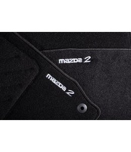 Mazda 2 Fußmattensatz Standard original ab. 06.2007