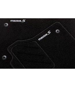 """Mazda 5 Fußmattensatz """"Standard"""" 4-teilig original ab 06.2010"""