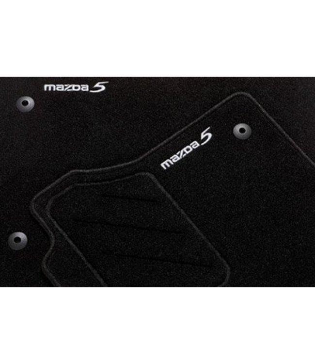 """Mazda 5 Textilfußmattensatz """"Standard"""" 5-teilig"""