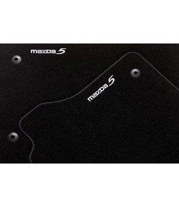 """Mazda 5 Fußmattensatz """"Luxury"""" 5-teilig original ab 06.2010"""