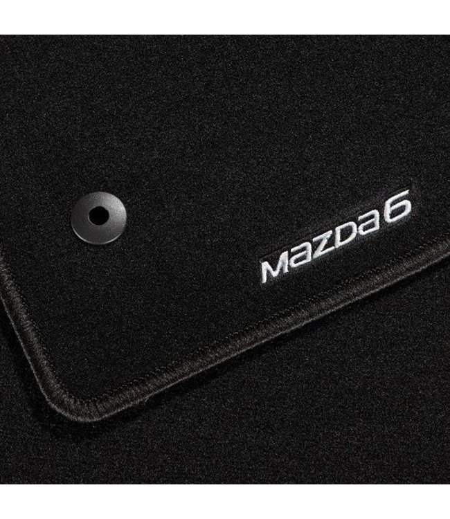 "Mazda 6 Fußmattensatz ""Standard"" original ab 08.2012 GL/GJ/GH"