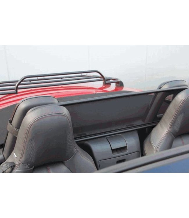 Mazda MX-5 ND Windschott Leder in Carbon Optik