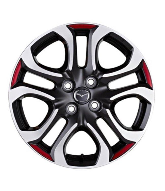 Mazda 2 Folierungen für 4 Räder original ab 2015 passend für Design 154