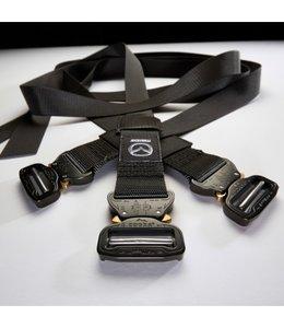 MX-5 Gurtset für Carbon Koffer original ND bestehend aus 3 Stück