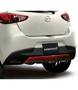 Mazda 2 Unterfahrschutz original ab 02.2015 Typ DJ lackiert in Rubinrot metallic