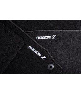 Mazda 2 Fußmattensatz Luxury original Typ DE ab 06.2007