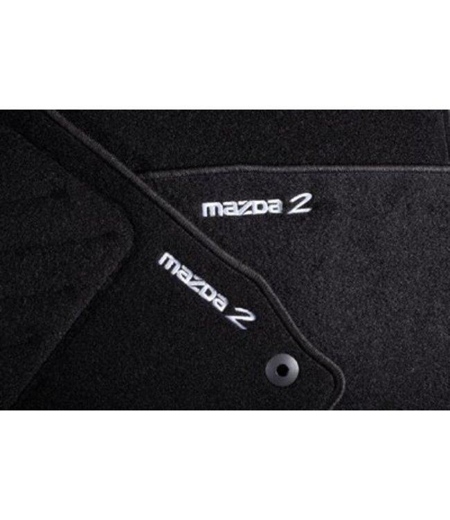 Mazda 2 Textilfußmattensatz Luxury original Typ DE ab 06.2007
