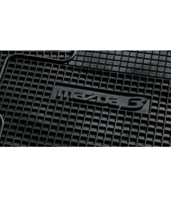 Mazda 3 BK bis 11.2008 Gummi-Passformmattensatz original