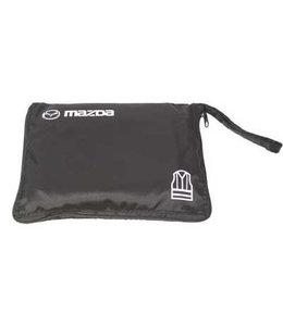 Mazda Warnweste in Premium Nylon Verpackung