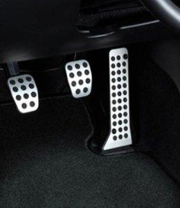 6 Alu Pedalsatz 3-teilig original nur für Schaltgetriebe GJ ab 08.2012