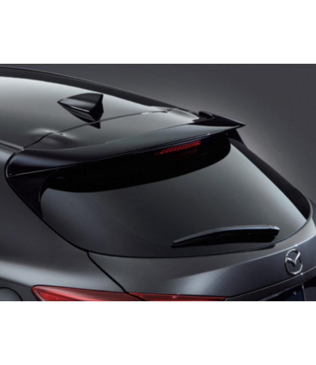 Mazda 3 Heckspoiler original ab 2016 Typ BN 5-Türer lackiert in Onyxschwarz (41W)