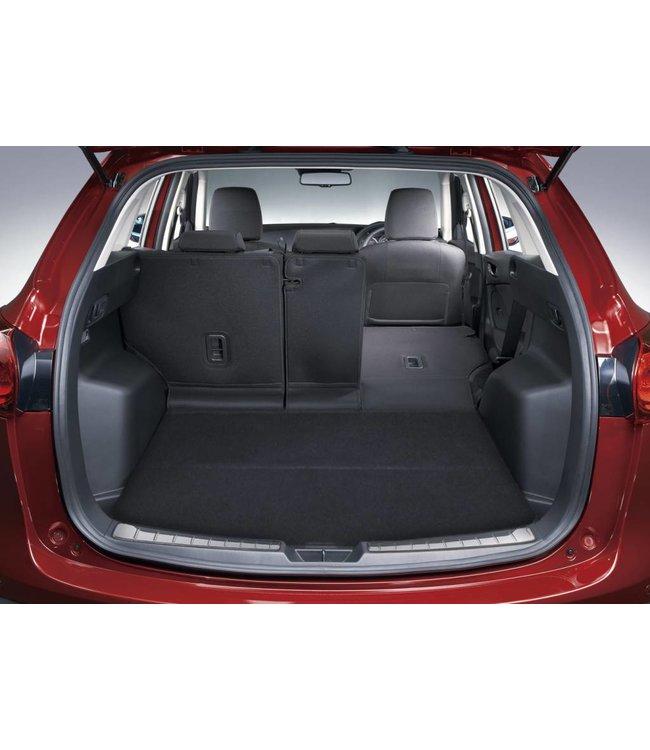 Mazda CX-5 KE bis 2017 Ladekantenschutz Edelstahl Kofferraum