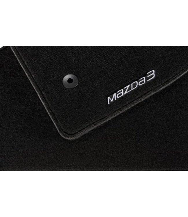 """Mazda 3 Fußmattensatz """"Standard"""" original ab 05.2013 Typ BN BM BL"""