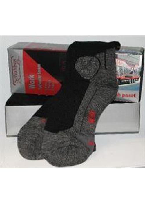 Sokken Worker zwart (5-paar)
