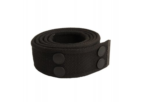 Dunderdon Canvas Belt Zwart
