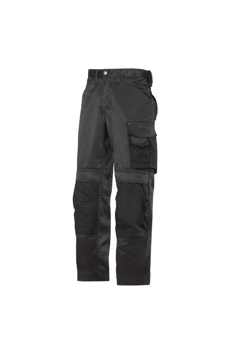 Snickers Workwear 3311 DuraTwill Broek Zwart