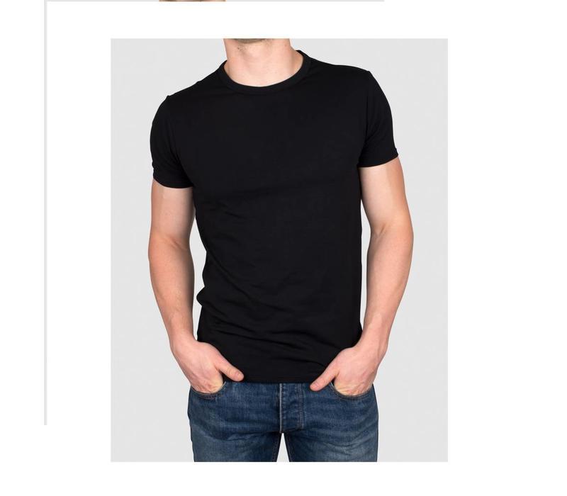 T-shirts T5 2pack zwart/wit