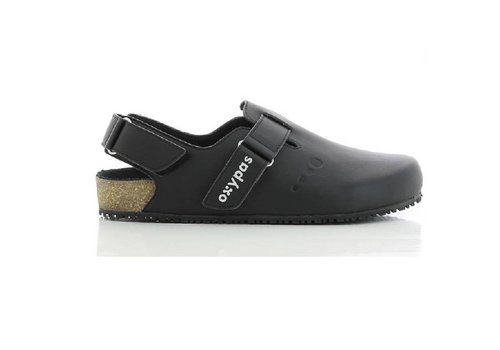 Bianca zwart slipper