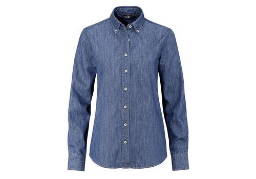 Ernst Alexis Dames Denim shirt 100% katoen