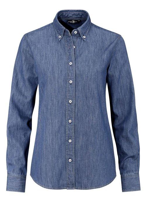 Ernst Alexis Ernst Alexis Dames Denim shirt 100% katoen
