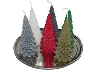 Kerstboom Kaarsen - Christmas Tree Candles