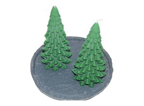 Kerstboom Kaars - Christmas Tree Candle 20x10 cm