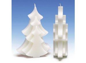 Kaarsenmal Kerstboom 100x40x150 mm - Zelf Kaarsen maken