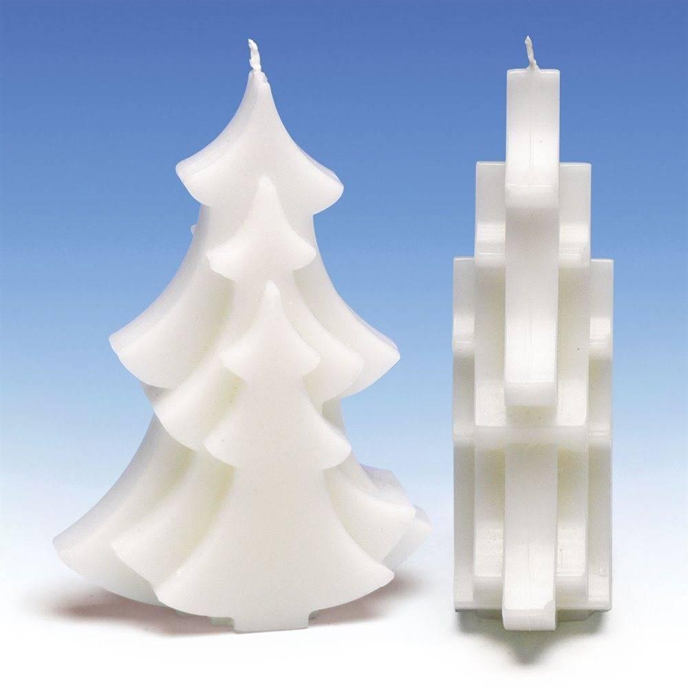 Kaarsenmal Kerstboom 100x40x150 Mm Zelf Kaarsen Maken Kaarswinkel