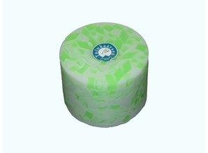 Handmade Grote Tuinkaars Mozaïek Groen-Fluor XL Ø 18x12 cm