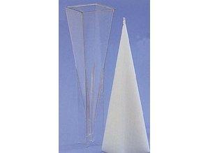 Kaarsenmal Piramide 60 x 60 x 228 mm - Kaarsen maken
