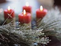 Kaarsen voor najaar en Kerst