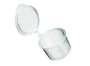 Cupje met deksel voor Waxmelts 10,7 cc - 100 st - Zelf waxmelts maken