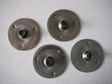 Pitvoetjes klein 14,75 mm 25 stuks