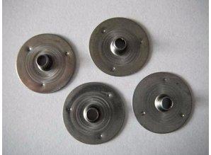Pitvoetjes klein 14,75 mm - zelf kaarsen maken