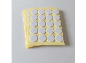 Pitvoet Stickers per 20 st. - Kaarsen maken