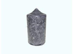 Kaars Rustique Black Ø 6,5x12 cm