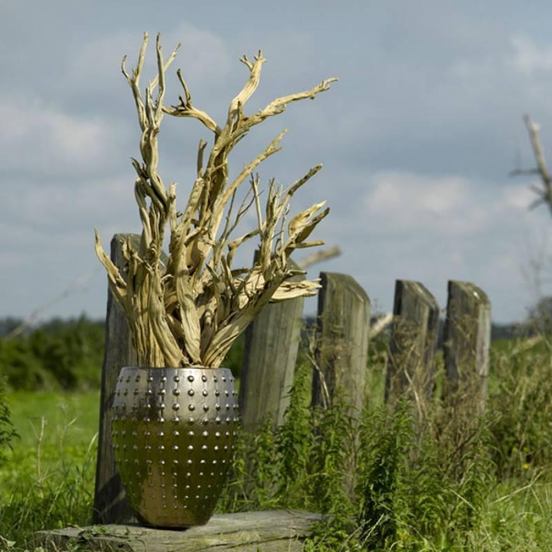 Buble Vase Gold