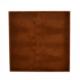 Exclusieve leren dienblad croco print Cognac L80 B80 H6