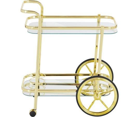 Vintage Golden Bar Cart HEOO