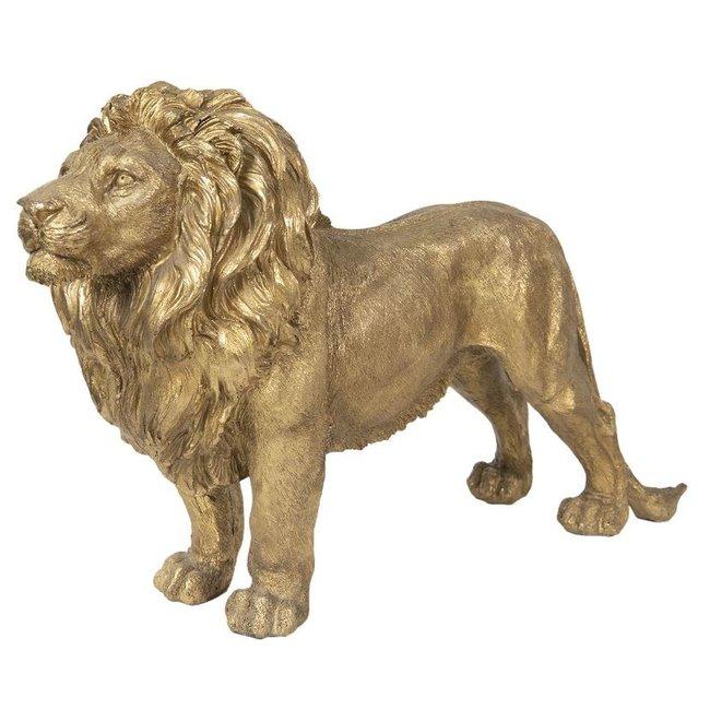 Decoratieve Gouden Leeuw